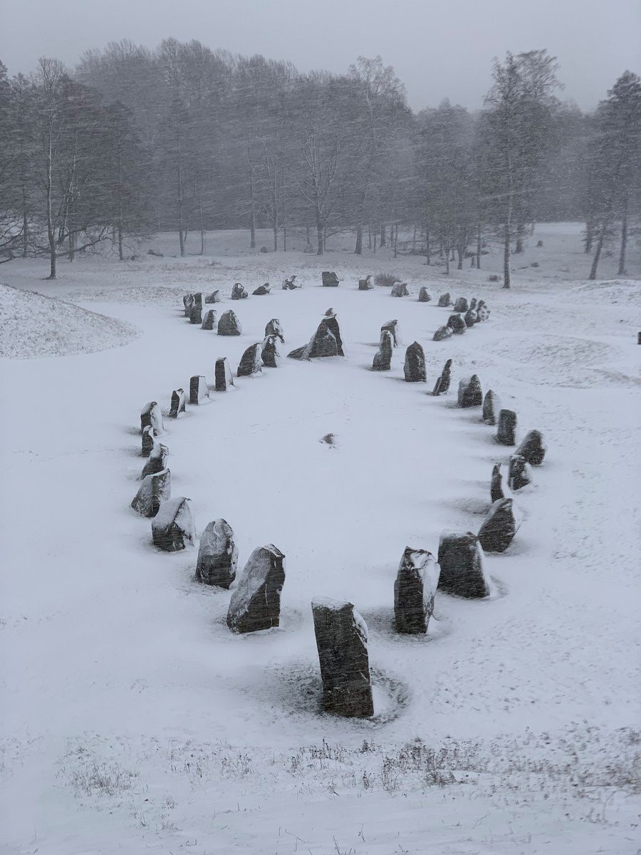Stone circle in Anundshög, Sweden. By Daniel Aubrey.